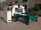 Máquina de trituração para o EPS, Styrofoam do CNC da linha central router/4 3D do CNC de Frogmill, plutônio, poliestireno, espuma de poliuretano