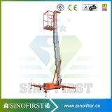 4m Mobile Aloft Vertical Man Lift Platform