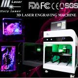 met Laser van de van Certificatie Ce Machine van de Gravure 3D van de Foto voor Kristallen en AcrylAmbacht (hsgp-2KC)