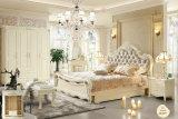 상한 Solid Wood Bed, 프랑스 Style Furniture 의 Adults (8812)를 위한 White 침실 Furniture Sets