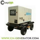 Generador diesel movible silencioso estupendo montado acoplado