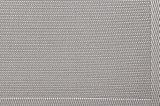 Materia textil antideslizante Placemat del telar jacquar del aislante de plata de la armadura para el hogar y el restaurante