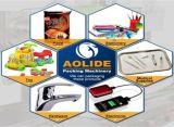 大きい枕袋の商品の水平の包装機械価格Ald-600xd
