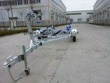 Reboque do barco com rolos curvados Tr0216