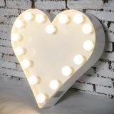 Signes d'ampoule de signe de la lettre 3D d'éclairage d'ampoule de décoration de pièce