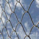 Engranzamento da corda de fio do aço inoxidável da cerca do engranzamento do cabo