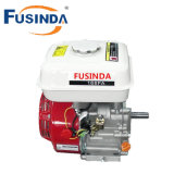 Motor de gasolina de la gasolina de la calidad de Fusinda 6.5HP, motor de la reducción del 1/2 con el embrague centrífugo (eje de la chavetera)