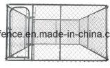 La fossa di scolo del cane di collegamento Chain lo fa voi stessi rete fissa provvisoria del cane