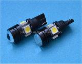 Lampada dell'automobile dell'automobile LED dell'obiettivo del proiettore di T10 LED W5w 12V