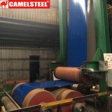 Acier galvanisé enduit par couleur en acier galvanisé plongé chaud de bobine