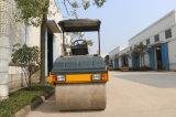 Rolo de estrada Aço-Rodado dobro Vibratory de 3 toneladas mini (YZC3)