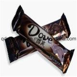 Empaquetadora de la barra de chocolate con el alimentador