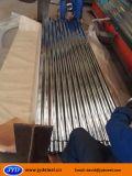 Hoja de acero galvanizada acanalada dura llena del material para techos