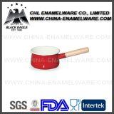 中国の製造者の美食家の必要な普及したエナメル小型ソース鍋