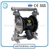 Diafragma mecánico que dosifica la bomba del acero inoxidable neumática para el solvente