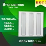 De nieuwe LEIDENE van de Aankomst 36W 600X600 Lamp van het Traliewerk