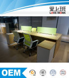 Estação de trabalho moderna por atacado do escritório da divisória para a pessoa 4