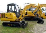 0.17m3 Bucket (HH45-7B)를 가진 세륨 Approved 4.5 Tons Crawler Excavator