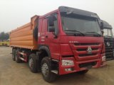 중국 상표 Sinotruk HOWO 76 팁 주는 사람 트럭 최신 판매