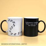 Colore bollato del caffè del programma della tazza che cambia tazza di ceramica