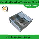 Fabricação de chapa metálica para caixa de montagem