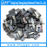 Segmento molhado da lâmina de estaca do granito do diamante de estaca