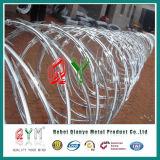 Гальванизированная Concertina колючая проволока бритвы обеспеченностью бритвы Wire/PVC Coated Hight