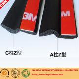 Profil d'extrusion de caoutchouc spongieux d'EPDM, tuyauterie en caoutchouc et joints