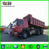 HOWO 30ton 6X4 덤프 트럭 25m3 무거운 쓰레기꾼 차량