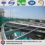 Mostra corridoio della struttura d'acciaio