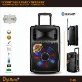 Guangzhou-Hersteller-Preis MultifunktionsBluetooth Stereobatterie-aktiver Laufkatze-Lautsprecher