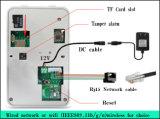 Vídeo portero automático inalámbrico Wi-Fi automática con Colar vídeo