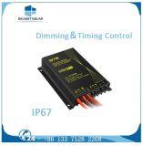 다결정 태양 전지판 IP65/IP68 건전지에 의하여 매장되는 태양 LED 가로등