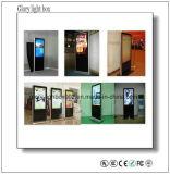 Exhibición montada en la pared comercial de interior de los medios del LCD