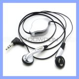 3.5mm Stereo Retractable Earphone for iPhone Samsung MP3 MP4 Headset Headphone