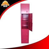 نوعية ممتازة رخيصة معدن 2 أبواب ملابس خزانة