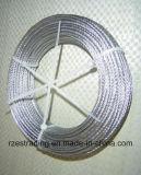 7*7 de uitstekende kwaliteit Gegalvaniseerde Kabel van de Draad van het Staal
