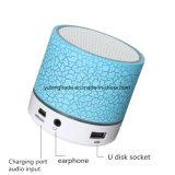 O diodo emissor de luz ilumina mini altofalantes sem fio de Bluetooth