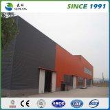 Светлый чертеж здания стальной структуры для офиса мастерской пакгауза