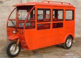 乗客のための屋根が付いている新しい3つの車輪のオートバイの三輪車