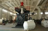 圧力詰物および重力詰物が付いている高速ブロー形成機械