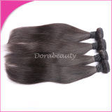Волосы девственницы полных человеческих волос надкожицы перуанских прямых сотка