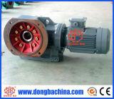 Motor chanfrado helicoidal do redutor da caixa de engrenagens (série de K: DK37~DK187)