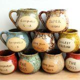 Estilo taza de porcelana Creative Design Europea del Café