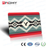 (Surface adjacente duelle) carte sèche universelle de PVC de lustre d'IDENTIFICATION RF