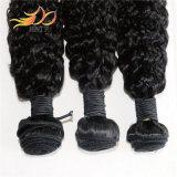 100%ベトナムのRemyのヘアケア製品のジェリーのカールの自然なカラー