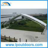 tenda provvisoria di alluminio del magazzino di larghezza di 50m grande