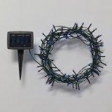 ホーム屋外のための太陽クリスマスの照明の青50 LEDストリングライト