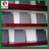 Steifes Belüftung-Blatt-Weiß/Grau