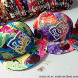 tampão do Snapback do chapéu de 100%Cotton Embroideried Hiphop
